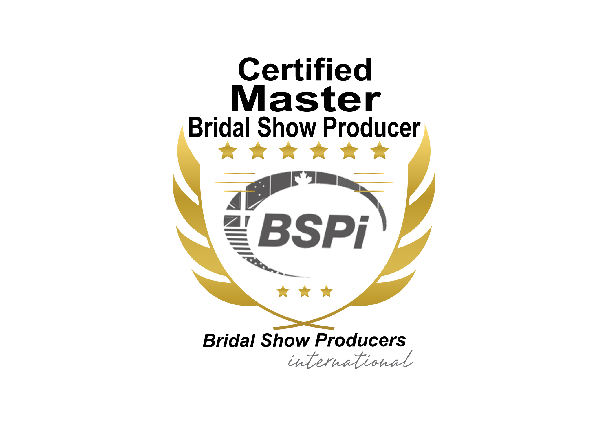 Bridal Show Producers International Certified Master